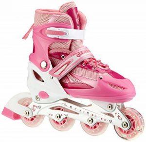 Rollers pour enfants/adolescents, à taille réglable - roulis avant Luminous de la marque Qiaofeng image 0 produit