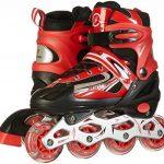 Rollers pour enfants/adolescents, à taille réglable - roulis avant Luminous de la marque Qiaofeng image 4 produit