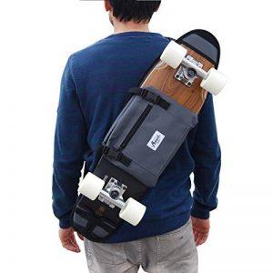 Sac à dos Skate board cruisers 26 et 27 inch planche à roulettes en plastique - Gris de la marque skate-home image 0 produit