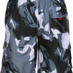 Sakkas Hommes Short Conception Vagues Multicolore Patins Planche de Surf / Maillot de Bain (Tailles et Couleurs Variées) de la marque Sakkas image 1 produit