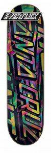 Santa Cruz Skate Acide Strip Everslick X 8,5en X 32.2en Planche de la marque Santa Cruz image 0 produit