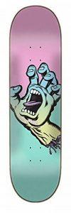 Santa Cruz Skate Pastel Screaming Hand 7,75en X 31en Planche de la marque Santa Cruz image 0 produit