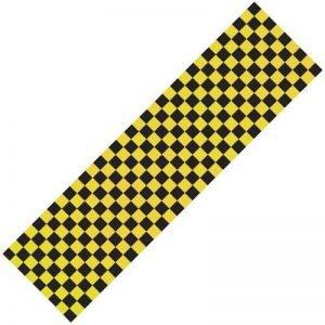 Scooter Griptape - Yellow/Black Chequered by Skate Asylum de la marque Skate Asylum image 0 produit