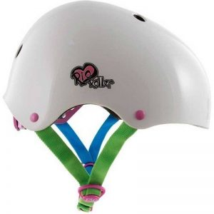 SFR Rio Roller Casque de skate–Candy blanc différentes tailles de la marque SFR image 0 produit