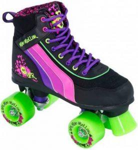 SFR Rio Roller Crâne Noir/Rose/Vert patins à roulettes de la marque SFR image 0 produit