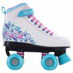 SFR - Rollers quad/patins à roulettes Vision II - blanc/bleu de la marque SFR image 1 produit