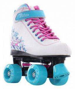 SFR - Rollers quad/patins à roulettes Vision II - blanc/bleu de la marque SFR image 0 produit