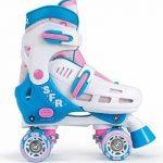 SFR Storm III enfants réglable Patins à roulettes–Blanc/Rose de la marque SFR image 1 produit