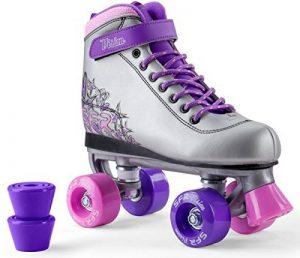 SFR VISION II PLUS Rollers en ligne et rollers quad skates rose enfants fille de la marque SFR image 0 produit