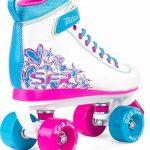 SFR VISION II PLUS Rollers en ligne et rollers quad skates rose enfants fille de la marque SFR image 1 produit