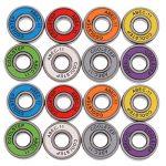 Sharplace Lot de 16pcs Roulements à Billes ABEC 11 Ultrarapide en Acier Chromé Résistant à Usure pour Skateboard / Patin à Roulettes / Scooter / Longboard de la marque Sharplace image 2 produit