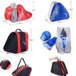 Skate Bag - Sac pour transporter des patins à glace, patins à roulettes, patins à roues alignées pour enfants / adultes, B de la marque Black Temptation image 1 produit