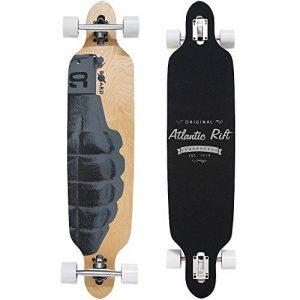 "Skateboard LONGBOARD - ORIGINAL ""Atlantic Rift"" 107 x 24cm - Roues ABEC 9 de la marque Deuba image 0 produit"