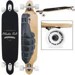 "Skateboard LONGBOARD - ORIGINAL ""Atlantic Rift"" 107 x 24cm - Roues ABEC 9 de la marque Deuba image 1 produit"