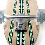 Skateboard, Longboard, Streetsurfer, modèle Muster 115 x 23 cm de la marque QualiTime GmbH image 2 produit