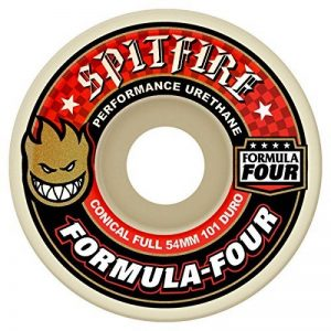 Spitfire Formula Four 101a Conical Wheels White/Red 54mm de la marque Spitfire image 0 produit