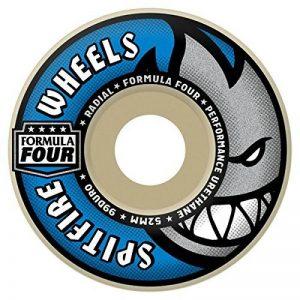 Spitfire 'Formula Four' Radial Wheels. 99a. White/Blue. 54mm. de la marque Spitfire image 0 produit