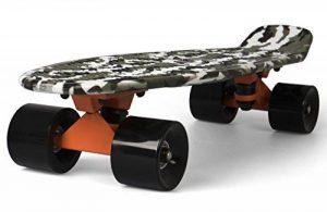 SportPlus - Mini Cruiser Longboard EZY ! - Skateboard Rétro - Longueur : env. 56 cm - Roulement ABEC-5 - Normé EN-13613 - Plusieurs Couleurs dispo de la marque Sportplus image 0 produit