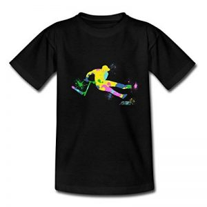 Spreadshirt Trottinette Freestyle Scooter Multicolore Figure T-shirt Ado de la marque Spreadshirt image 0 produit