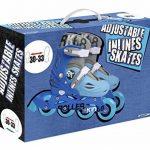 Stamp Jb130230 - Rollers en ligne ajustable pour garçon - 20 à 60 kg/max - Pointure 30 à 33 (260 mm maxi) - Bleu de la marque Stamp image 1 produit