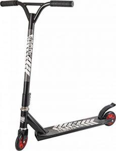 Staro Trottinette Freestyle enfant, noir 360° guidon renforcé par 4 points mécaniques plateau anti-dérapant, roues avec roulement à billes de la marque Staro image 0 produit