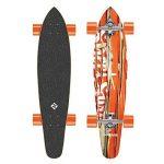 Streetsurfing 500235 Longboard Mixte Enfant, Damage Orange de la marque Street Surfing image 1 produit