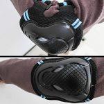 TOAOB Enfants Protecteur Set-Kid Junior Genouillères Coudières Protège-poignet pour les Adolescents Adulte BMX Skateboard Inline Roller Skate En Plein Air Ensemble de Pads de Sport de la marque TOAOB image 4 produit