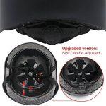 topfire Matt coloré de femmes/hommes Casque de skate/BMX M noir de la marque TOPFIRE MALL image 2 produit