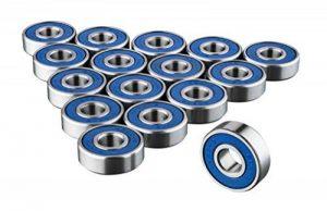 Trixes Roulements 608rs haute qualité sans frottement Abec 9Skateboard Roulement à rouleaux pour planches de skate de la marque TRIXES image 0 produit