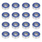 Trixes Roulements 608rs haute qualité sans frottement Abec 9Skateboard Roulement à rouleaux pour planches de skate de la marque TRIXES image 4 produit