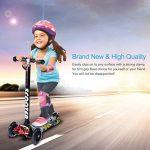Trottinette enfants Footprintse avec trois roues LED, réglable et Pliable de la marque Footprintse image 2 produit