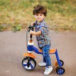 Trottinette pour enfants DWW-Trottinette Scooter pour enfants multifonctions Convient pour 1-5 ans Peut s'asseoir et monter en plein air jouets de luxe Hauteur réglable en alliage d'aluminium vélo de la marque Trottinette pour enfants image 2 produit