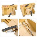 TT-KID 8pcs Kit Skatepark Pièces de rampe pour Tech Deck Fingerboard Mini Finger Skateboard Fingerboards Ultime Parcs de la marque image 4 produit