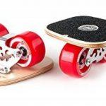 TWOLIONS-Cruiser Drift Skates,Pédale érable bois/Pro Skates 72 mm * 44 mm roues pu ABEC-7 roulements haut de gamme(gauche & droite) de la marque TWOLIONS image 1 produit