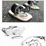 TWOLIONS-Cruiser Drift Skates,Pédale érable bois/Pro Skates 72 mm * 44 mm roues pu ABEC-7 roulements haut de gamme(gauche & droite) de la marque TWOLIONS image 3 produit