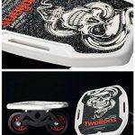 TWOLIONS-Grom Drift Skates,Pédale ABS Pro Skates 72 mm * 44 mm roues pu ABEC-7 roulements haut de gamme(gauche & droite) de la marque TWOLIONS image 2 produit