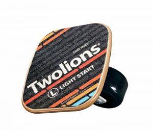 TWOLIONS-Grom Drift Skates,Pro Skates 72 mm * 44 mm roues pu ABEC-7 roulements haut de gamme(gauche & droite) de la marque TWOLIONS image 0 produit