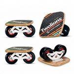 TWOLIONS-Grom Drift Skates,Pro Skates 72 mm * 44 mm roues pu ABEC-7 roulements haut de gamme(gauche & droite) de la marque TWOLIONS image 1 produit