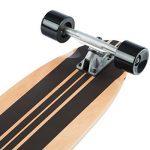 Ultrasport Longboard de downhill/Skateboard pour la pratique en ville et dans les parcs de la marque Ultrasport image 3 produit