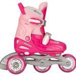 Unbekannt Nijdam 52QP_FRZ - Chaussures Ajustables pour Enfants, Fuchsia/Rose/Argent, Taille 30-33 de la marque Unbekannt image 2 produit
