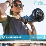 """Vainqueur du test* 6.5"""" Hoverboard Bluewheel HX310s Smart APP Self Balance Scooter, marque Allemande avec norme UL2272, mode sécurité enfant, Skateboard électrique, Bluetooth, e-skateboard Gyropode de la marque Bluewheel Electromobility image 2 produit"""