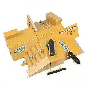 WayIn® 8pcs Kit Skatepark Pièces de rampe pour Tech Deck Fingerboard Mini Finger Skateboard Fingerboards Ultime Parcs de la marque WayIn image 0 produit