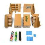 WayIn® 8pcs Kit Skatepark Pièces de rampe pour Tech Deck Fingerboard Mini Finger Skateboard Fingerboards Ultime Parcs de la marque WayIn image 4 produit