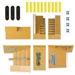 WayIn® 8pcs Kit Skatepark Pièces de rampe pour Tech Deck Fingerboard Mini Finger Skateboard Fingerboards Ultime Parcs de la marque WayIn image 6 produit