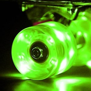 Wonnv LED Skateboard Cruiser Lot de 4 roues avec roulement ABEC-7 Roulements à billes 59 × 45 mm de la marque Wonnv image 0 produit
