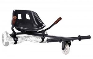 """yabbay HoverKarts avec Grand Siège de Course et Roue PU Durable - Hover Kart Compatible avec Hoverboard 6.5"""", 8"""", 10"""" de la marque yabbay image 0 produit"""