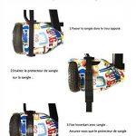 """yabbay HoverKarts avec Grand Siège de Course et Roue PU Durable - Hover Kart Compatible avec Hoverboard 6.5"""", 8"""", 10"""" de la marque yabbay image 6 produit"""