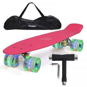 "Yorbay 22"" Mini Cruiser Skate 56cm Skateboard complet avec le sac et T-Tool de la marque Yorbay image 0 produit"