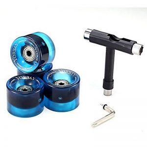 Yorbay 4x Roues de skateboard/longboard professionnelles 70x51mm de la marque Yorbay image 0 produit