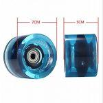 Yorbay 4x Roues de skateboard/longboard professionnelles 70x51mm de la marque Yorbay image 1 produit